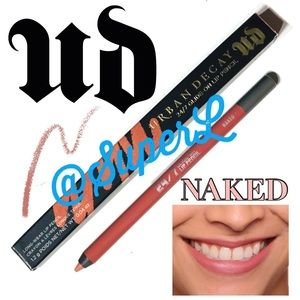 2/$25 Urban Decay Naked Lip Liner Lipstick Nude